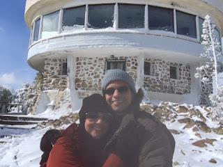 Confitaria no topo do Cerro Campanario em Bariloche
