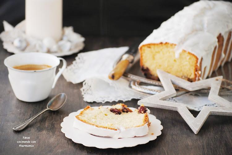 """Cake de arándanos """"un desayuno para el día de navidad"""" neus cocinando con thermomix"""