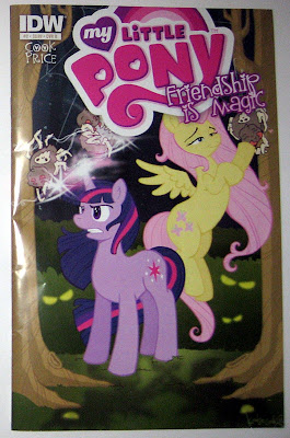 IDW MLP:FiM comic #2, Twilight/Fluttershy cover