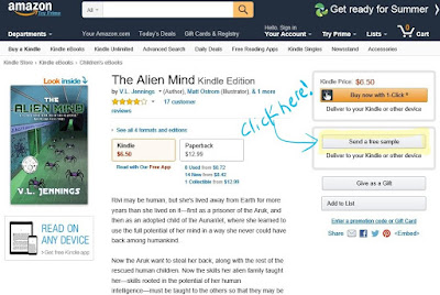 Amazon screenshot The Alien Mind