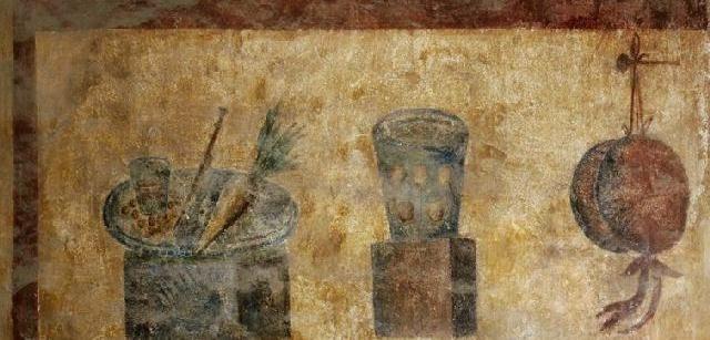 Dipinto nell'Ostia antica.