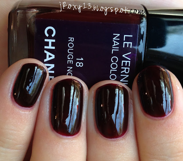 Chanel In #18 Rouge Noir, #18 Vamp, #757 Rose Fusion, And