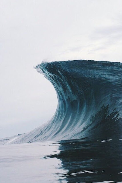 Wave, Blue, Immense