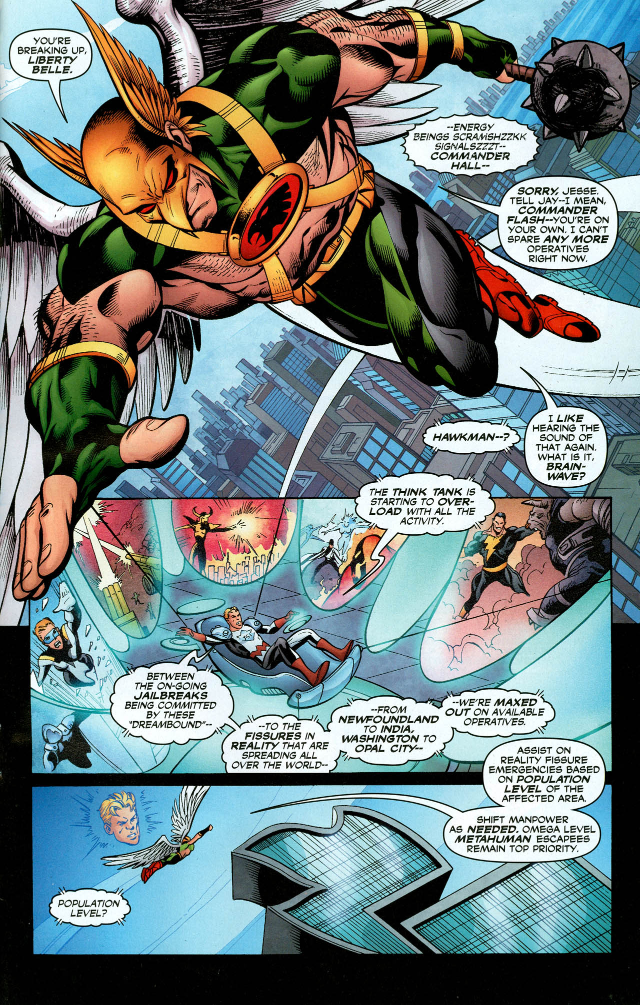 Read online Trinity (2008) comic -  Issue #28 - 27