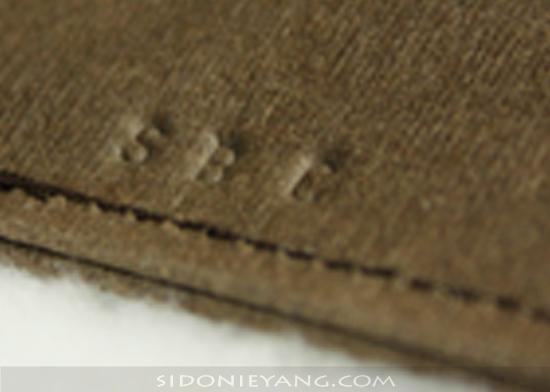 Initials stamp 英文字母鋼印字