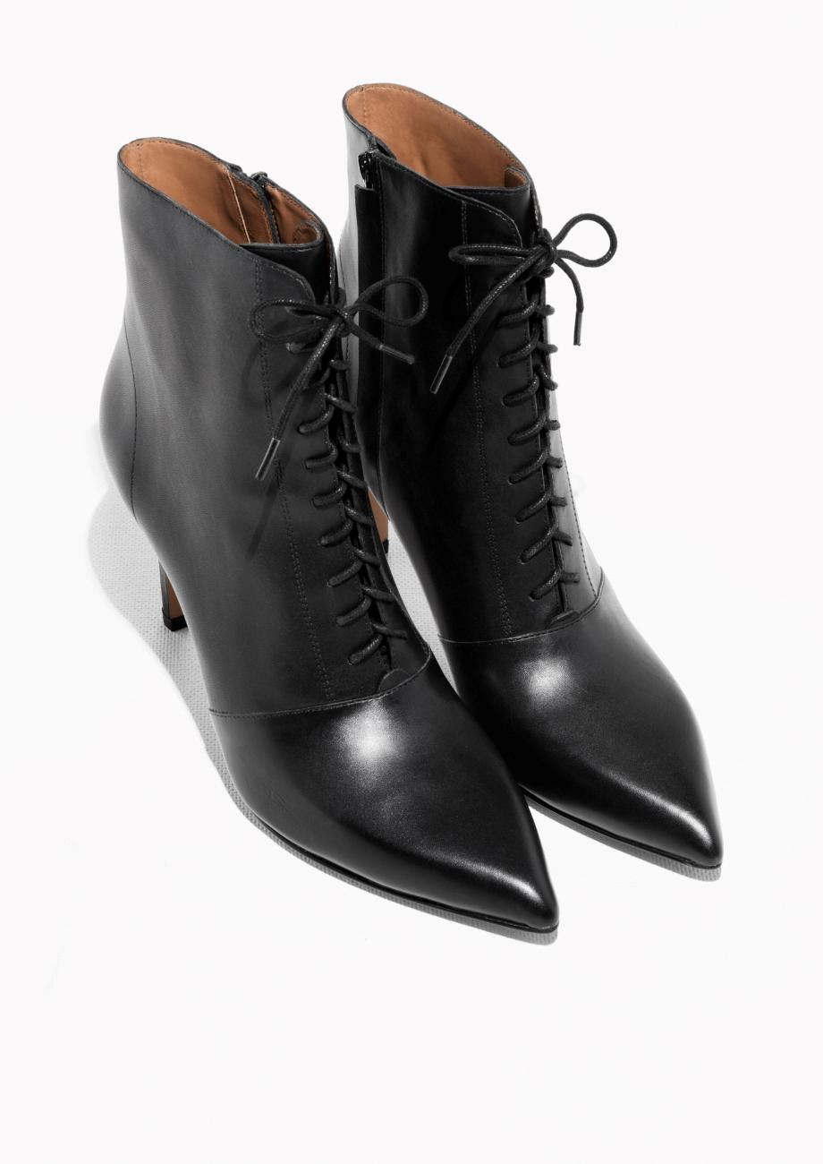 d36827537e604 Vintage Girl: Styl retro na co dzień: sznurowane botki w stylu ...