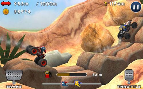 لعبة سباق السيارات الرائعة والشيقة Mini Racing Adventures مجانا للأندرويد