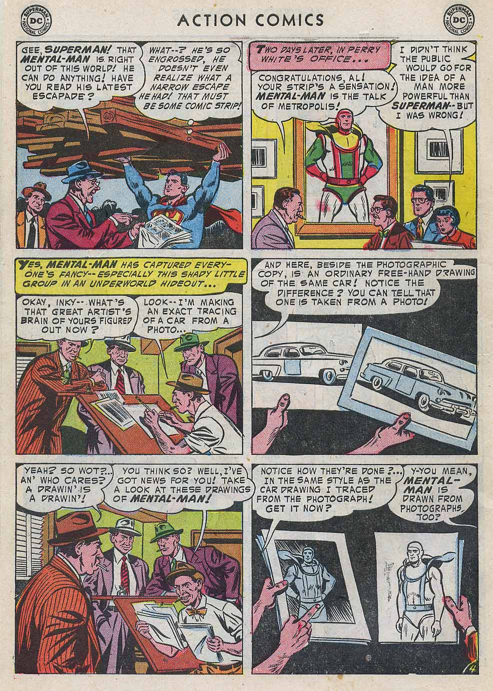 Read online Action Comics (1938) comic -  Issue #196 - 6