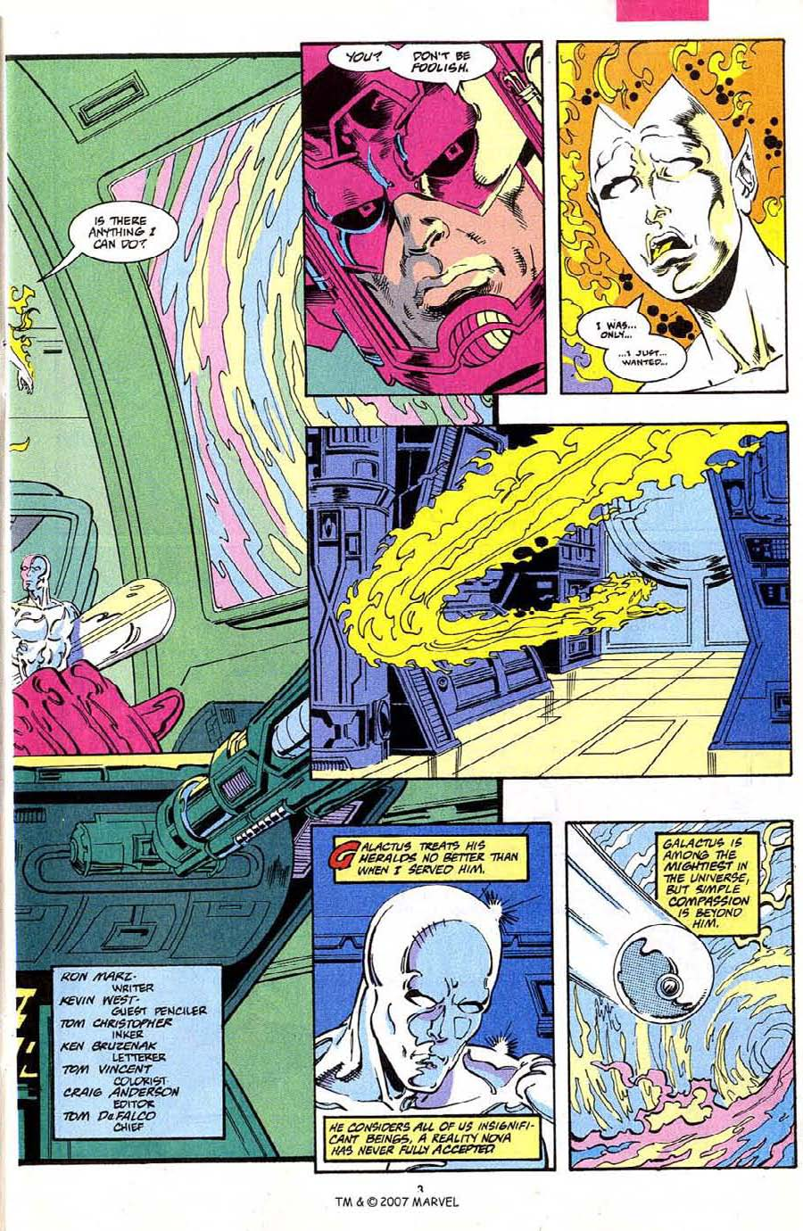Read online Silver Surfer (1987) comic -  Issue #68 - 5