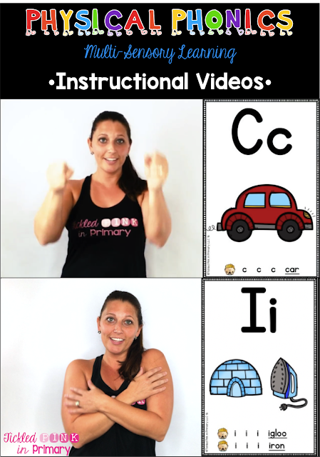 Physical Phonics Alphabet - Instructional Videos