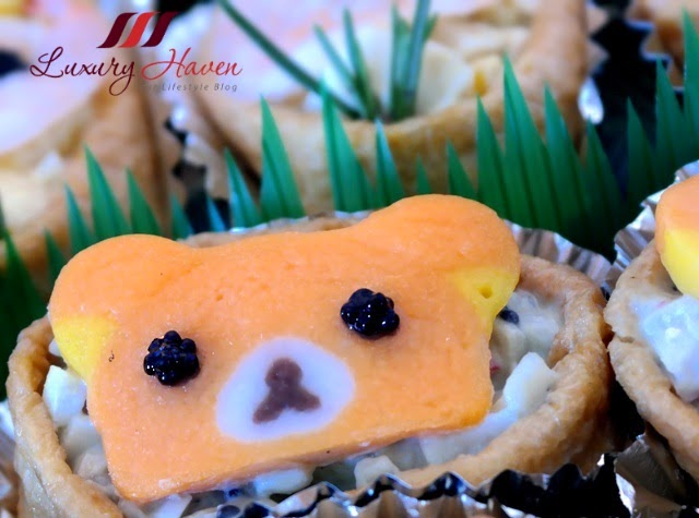 kawaii rilakkuma appetizers kids recipe