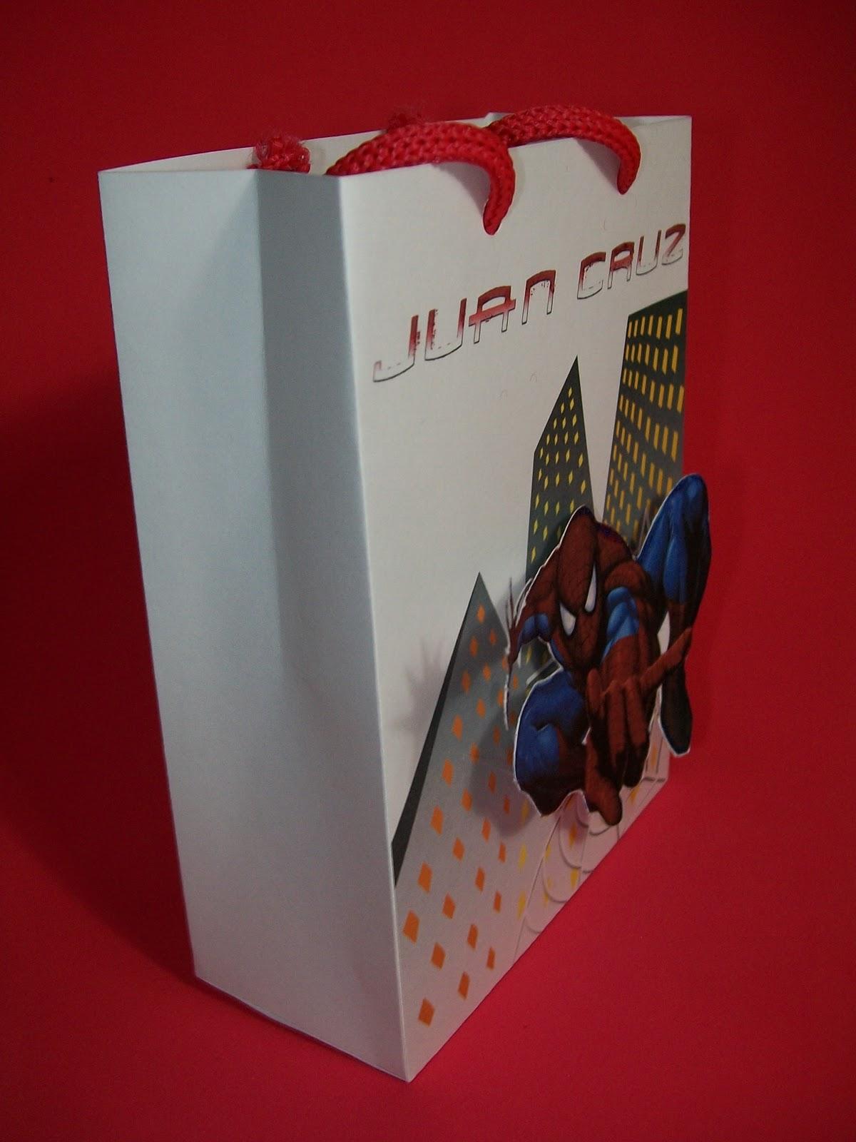 partygraf: Bolsitas dulceros Spiderman / Hombre Araña