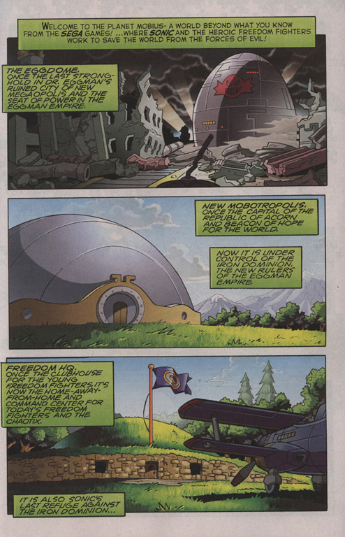 Read online Sonic The Hedgehog comic -  Issue #209 - 2