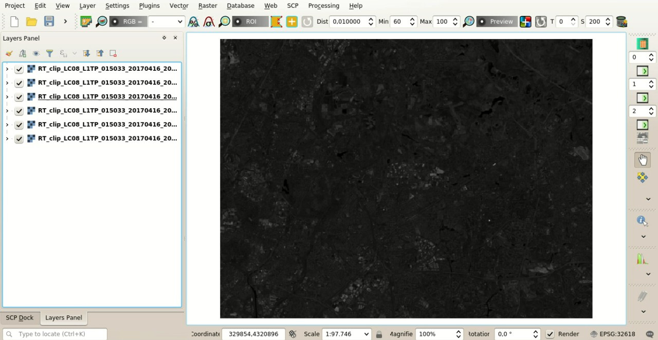 From GIS to Remote Sensing: Basic tutorial 1: Land Cover
