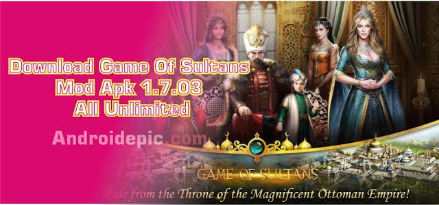 Game Of Sultans Versi 1.7.03 ini kalian juga memiliki selir-selir cantik yang dapat kalian simpan didalam kerajaan.