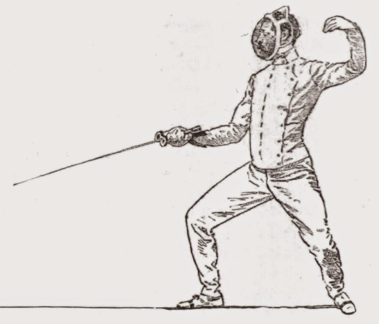 Victorian Fencing Society The Victorian Fencing Outfit
