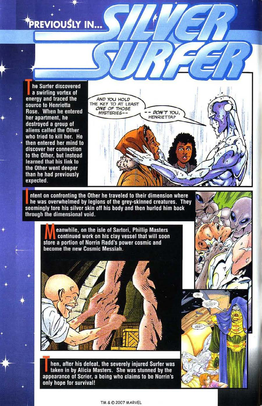 Read online Silver Surfer (1987) comic -  Issue #135 - 3