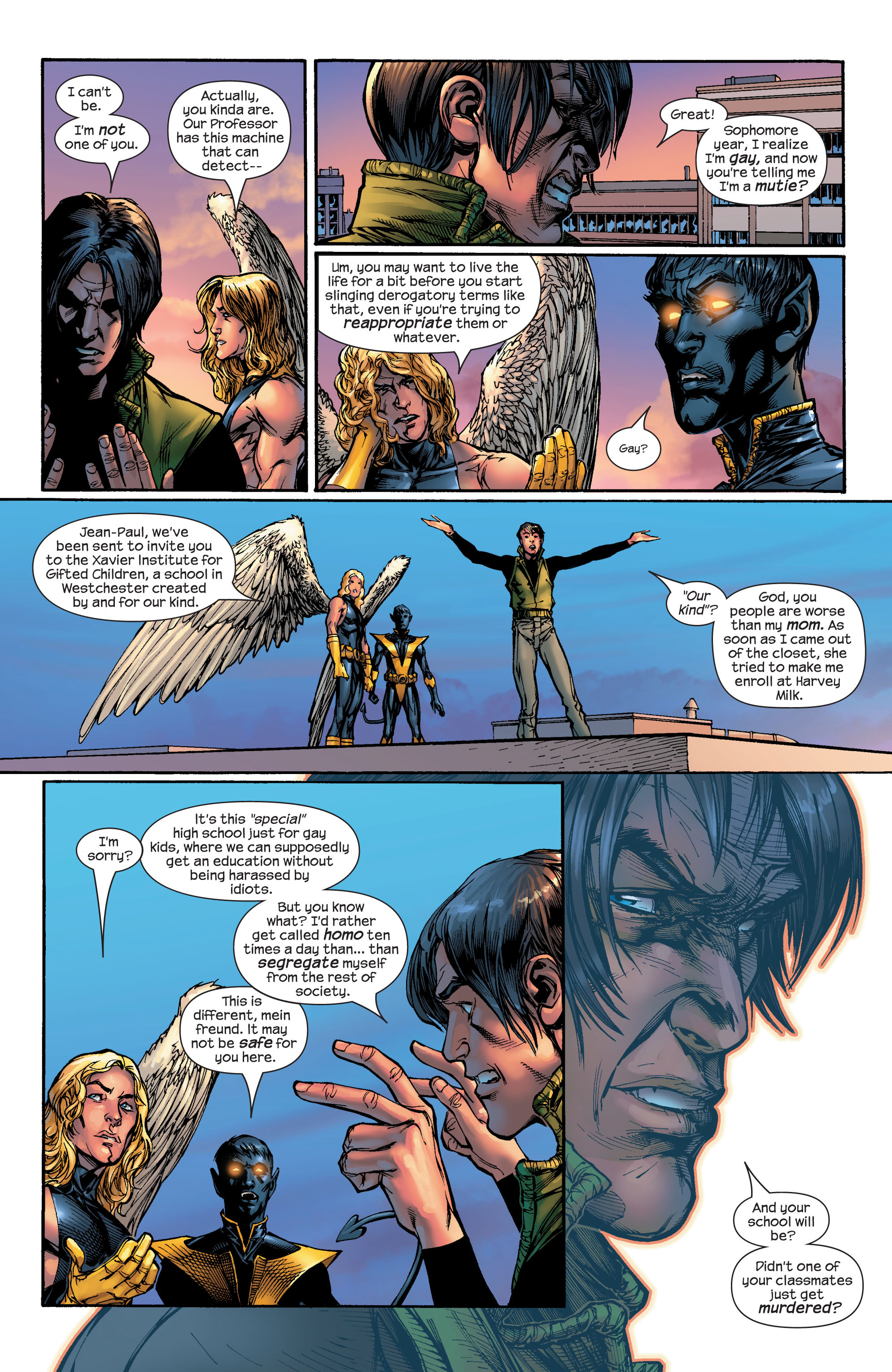 Read online Ultimate X-Men comic -  Issue #46 - 6