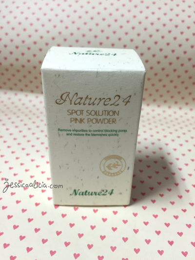Review : Nature24 Spot Solution Pink Powder by Jessica Alicia