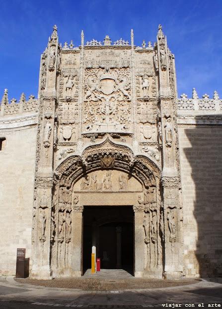 El Museo Nacional De Escultura En Colegio San Gregorio