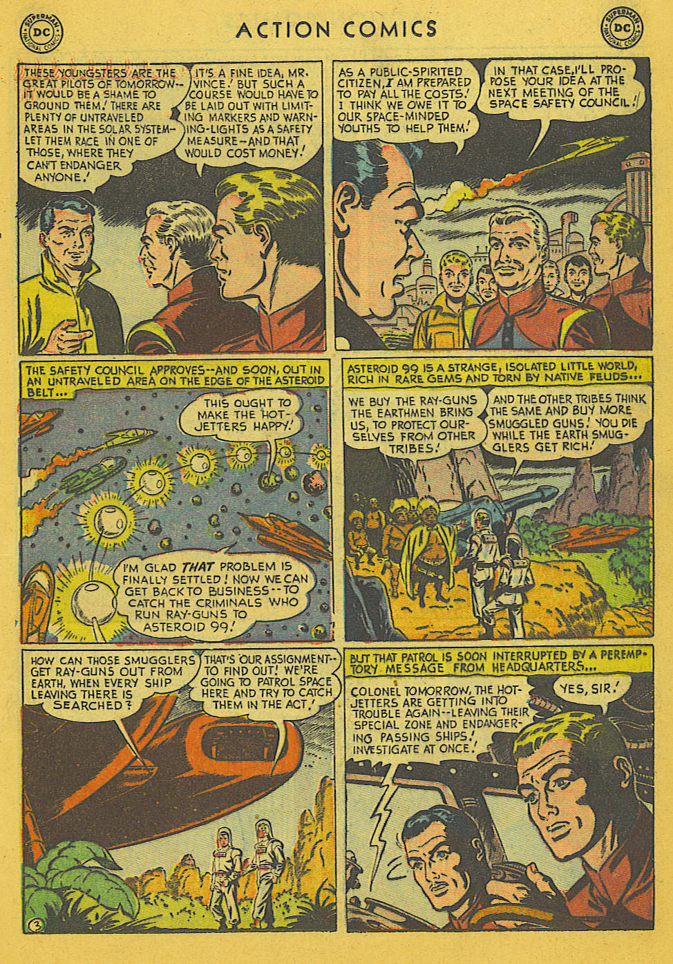 Read online Action Comics (1938) comic -  Issue #186 - 23