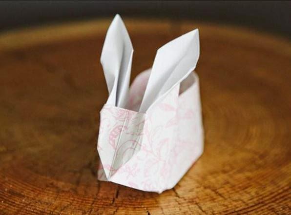 Diy Easy Paper Origami Bunny Box The Idea King