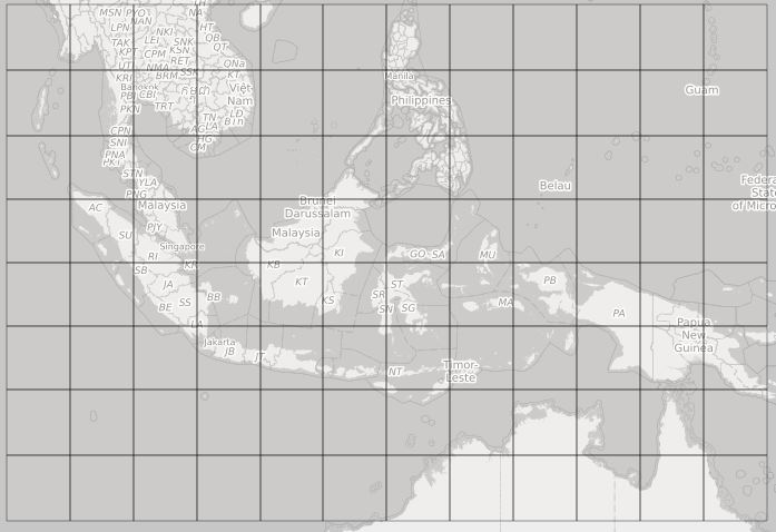 Data Peta Batimetri dari DEMNAS Seluruh Indonesia Dowload Via Google Drive single link
