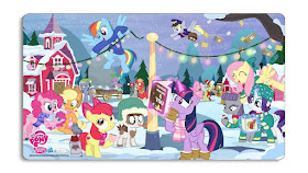 Enterplay Holiday MLP Card Mat