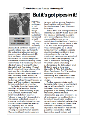 Feature on Hardwicke House from The Camberwick Green Procrastination Society by Tim Worthington