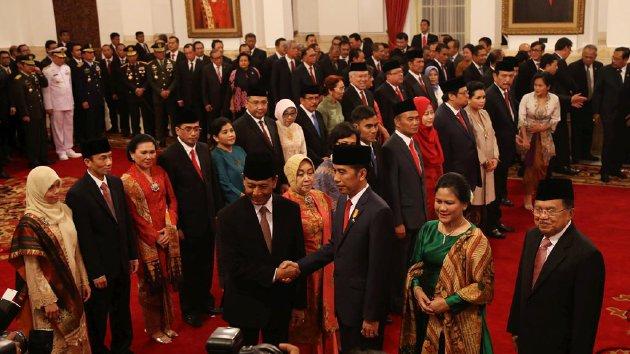 Pelantikan Reshuffle Jilid II Kabinet Indonesia Kerja