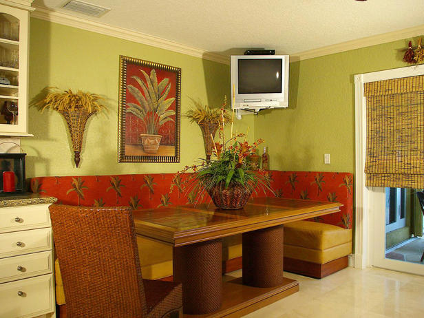 Modern Furniture: Tropical Dining Room Decorating Ideas