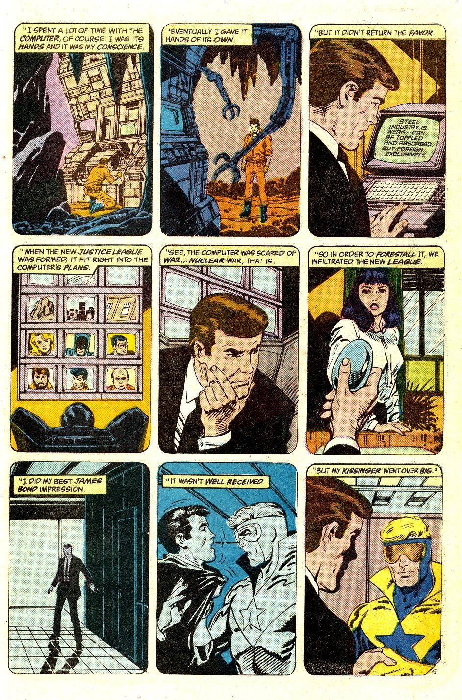 Read online Secret Origins (1986) comic -  Issue #35 - 43