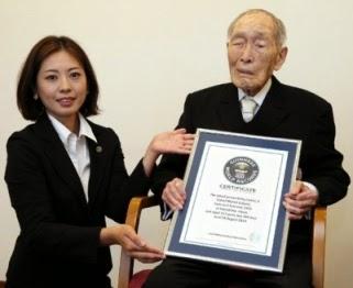 Sakari Momoi : Pria Tertua di Dunia