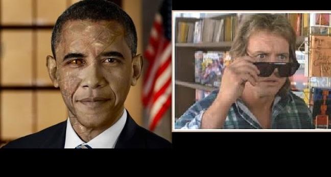 Toν Τζορτζ Μπους αποχαιρετούν τα  προηγούμενα πιόνια/πρόεδροι Μπάρακ Ομπάμα και Μπιλ Κλίντον