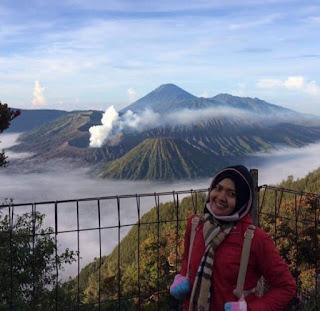 Pesona Kawah Gunung Bromo