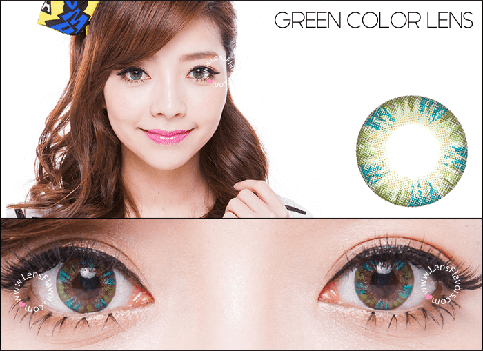 vassen rainbow eyes greenish blue circle lenses