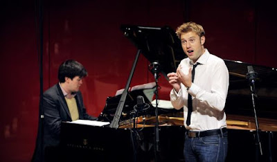 James Baillieu and Benjamin Appl on BBC Radio 3's 'In Tune' in 2014