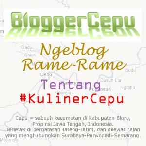 Ngeblog Rame-Rame Tentang #KulinerCepu