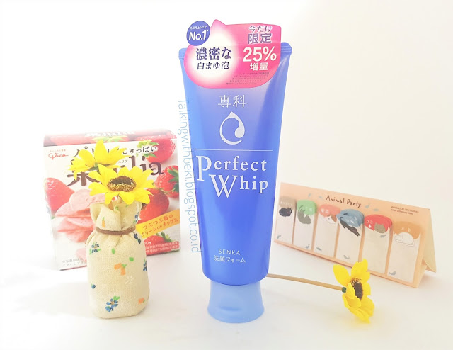 Review Shiseido Senka Perfect Whip Facial Foam