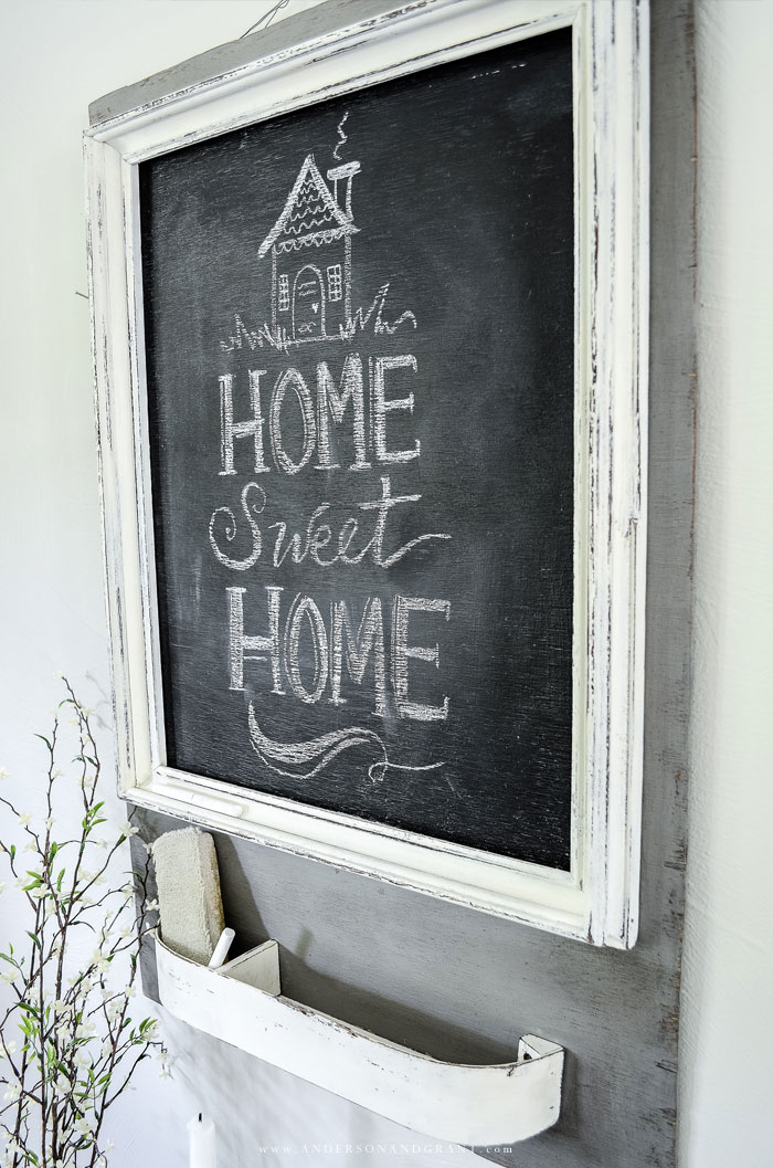 Farmhouse Chalkboard DIY project