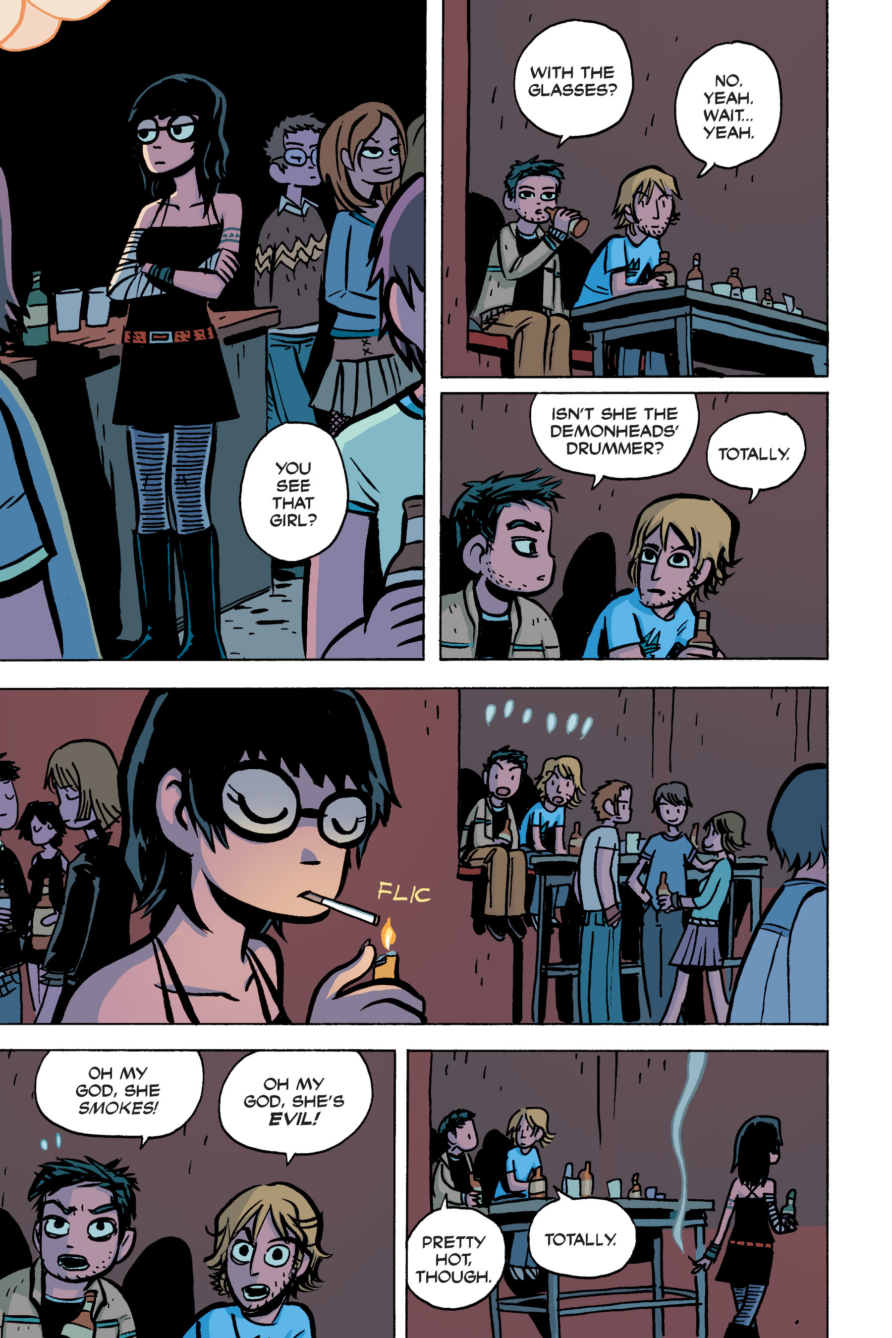 Read online Scott Pilgrim comic -  Issue #2 - 180