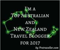 Awards - Top Travel Blogger for 2017