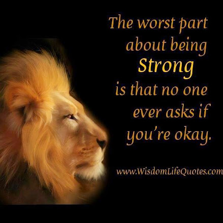 On being strong -