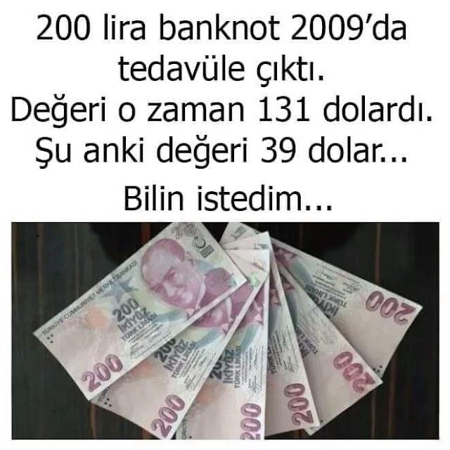 442: 200,00₺ Kaç Elin Parası Ediyor?