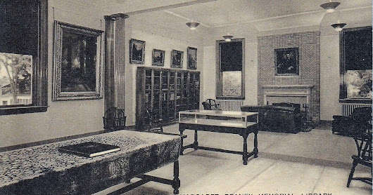 Reany Memorial Library, Interior, St Johnsville, New York