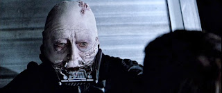 Sebastian Shaw as Darrth Vader in Return of the Jedi