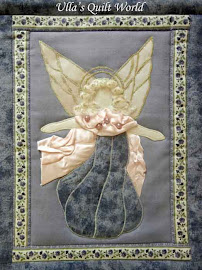 Angel wall hanging quilt