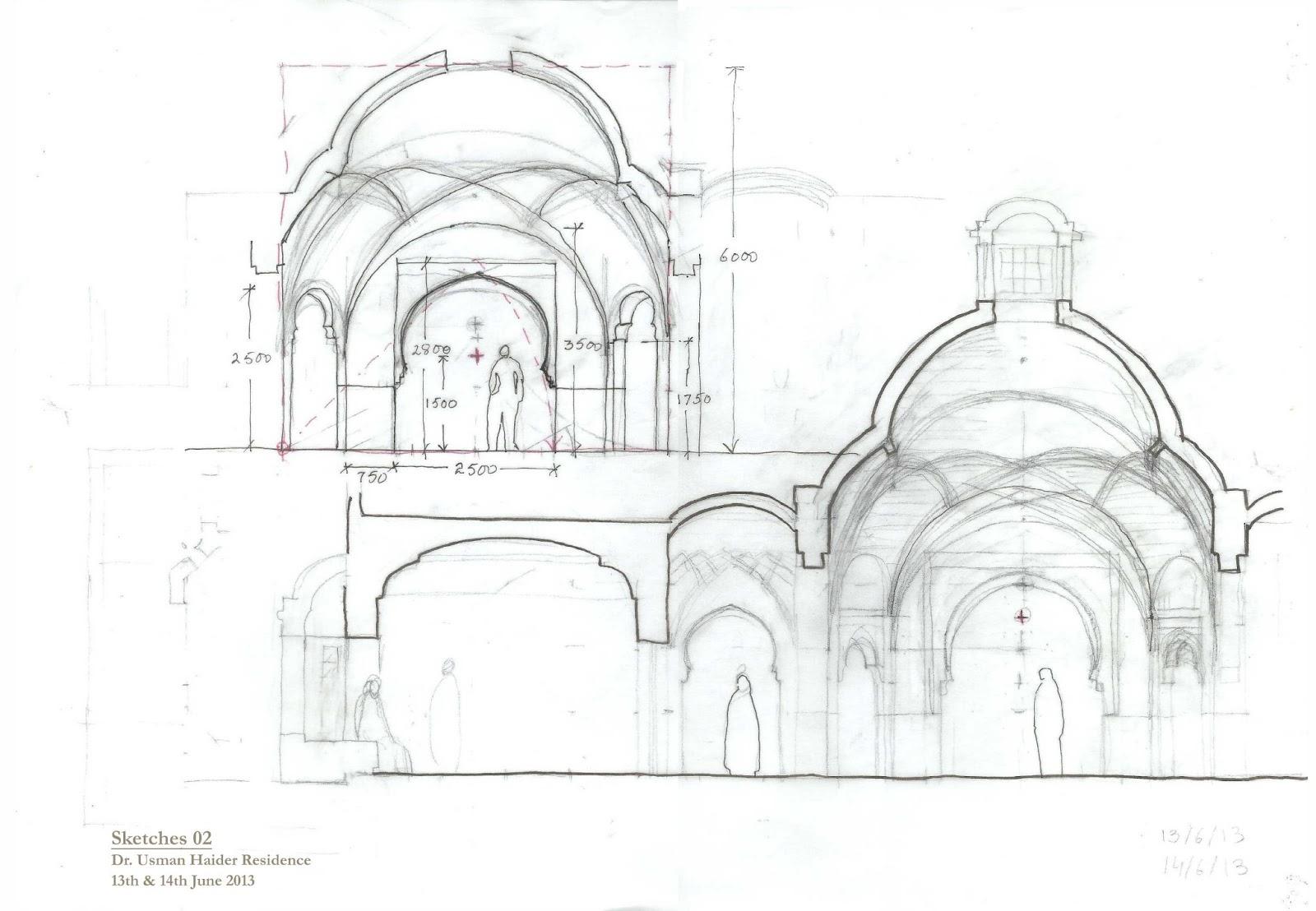 Kamil Khan Mumtaz Architects: Drawings & Sketeches
