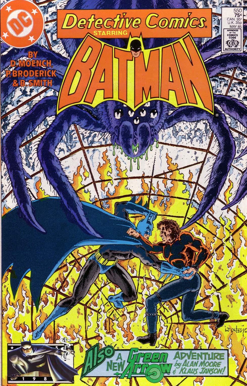 Detective Comics (1937) 550 Page 0