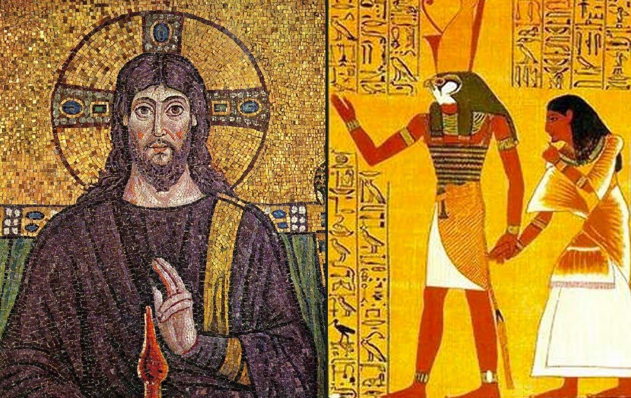 horus, jesus, christianity
